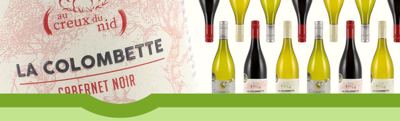 Gamme de vin superbio, cépages résistants