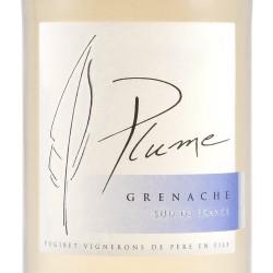 Etiquette Vin léger plume 9%