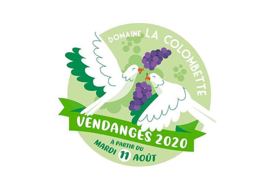 Domaine de la Colombette - Vendanges 2020
