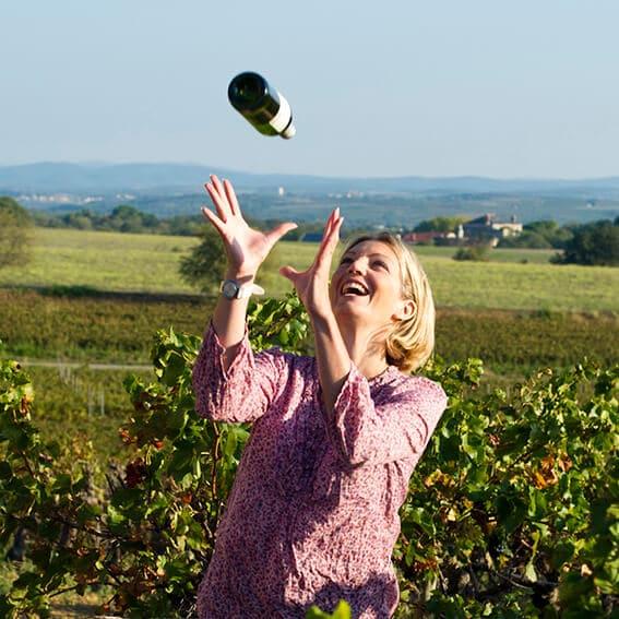 Plume vin légers à 9%vol