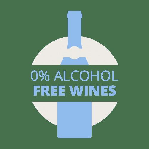 Gamme de vin sans alcool